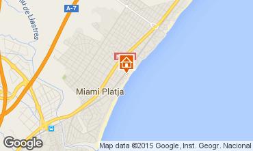 Map Miami Playa Apartment 54925