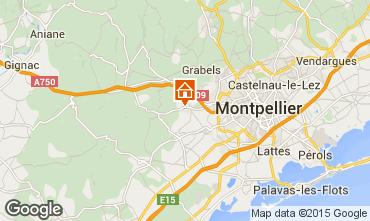Map Montpellier Villa 85047