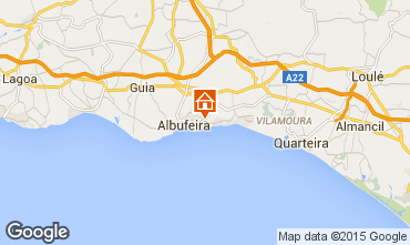 Map Albufeira Apartment 11464