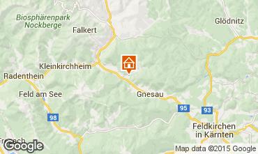 Map Bad Kleinkirchheim Apartment 35449