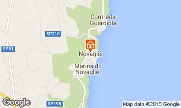 Map Marina di Novaglie Villa 84689