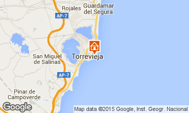 Map Torrevieja Apartment 55632