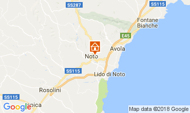 Map Noto House 113314