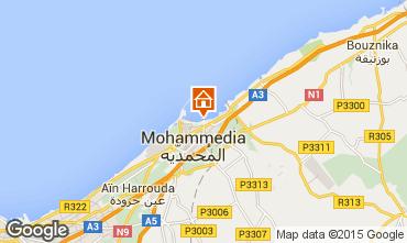 Map Mohammedia Apartment 73277