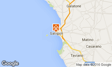 Map Gallipoli Apartment 102767