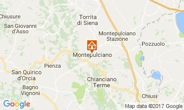 Map Montepulciano Apartment 110028