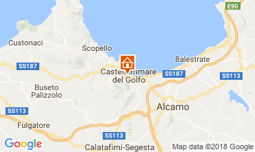 Map Castellammare del Golfo Apartment 113998