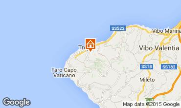 Map Tropea Apartment 76371