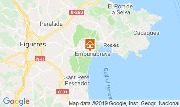 Map Empuriabrava Villa 116391