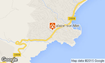 Map Cavalaire-sur-Mer Apartment 29401
