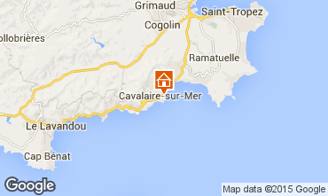 Map Cavalaire-sur-Mer Apartment 9053