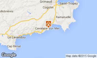 Map Cavalaire-sur-Mer Apartment 9053