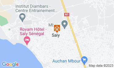 Map Saly Villa 40814