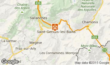 Map Saint-Gervais-les-Bains Apartment 73512
