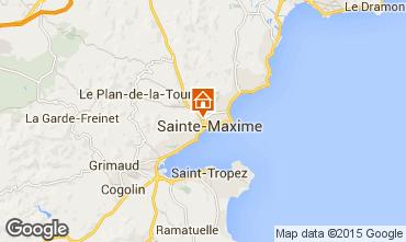 Map Sainte Maxime House 8557