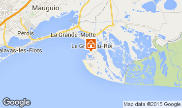 Map Port Camargue One-room apartment 98176