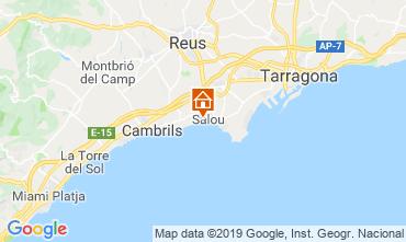 Map Salou Apartment 78096