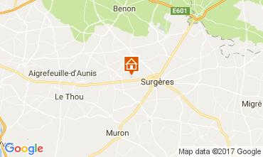 Map La Rochelle Vacation rental 108213