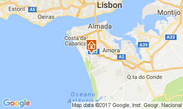 Map Lisbon Villa 65732