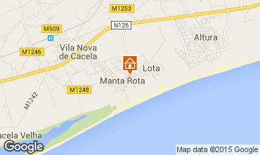 Map Vila Real de Santo Antonio Apartment 63105