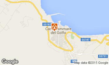 Map Castellammare del Golfo One-room apartment 73000