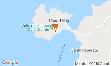 Map Santa Teresa di Gallura Villa 90063
