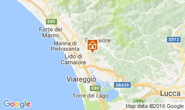 Map Camaiore Villa 107103