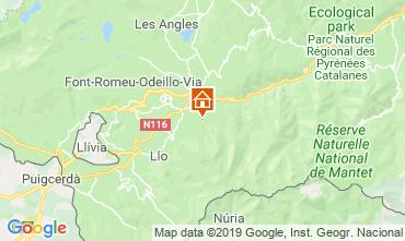 Map Saint Pierre - Dels - Forcats - Cambre Chalet 118174