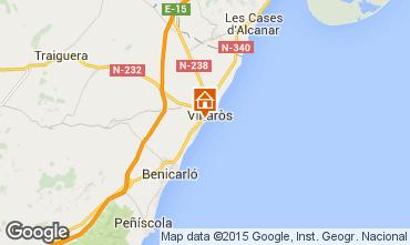 Map Vinaròs Apartment 57683