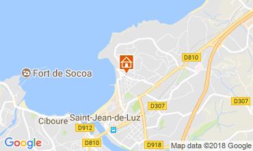 Map Saint Jean de Luz Apartment 114915