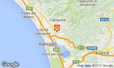 Map Viareggio Apartment 70889