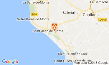 Map Saint Jean de Monts Mobile home 114502
