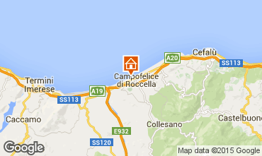 Map Cefalù Villa 32862