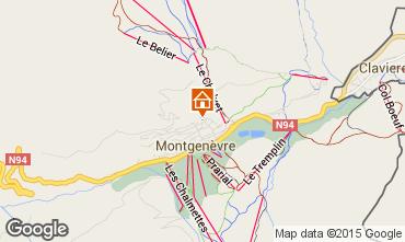 Map Montgenevre One-room apartment 66833