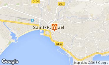 Map Saint Raphael Apartment 91064