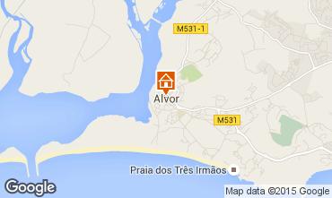 Map Alvor Apartment 41571