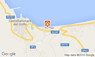 Map Castellammare del Golfo Apartment 106063