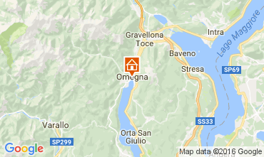 Map Orta San Giulio Apartment 106597
