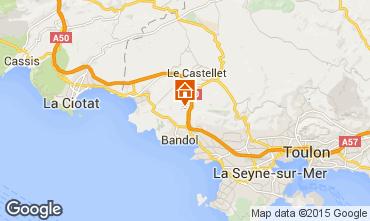 Map La Cadière d'Azur Villa 94916