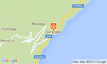 Map Gargnano Apartment 18480