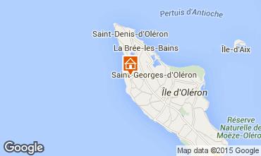 Map Saint Georges d'Ol�ron House 63363