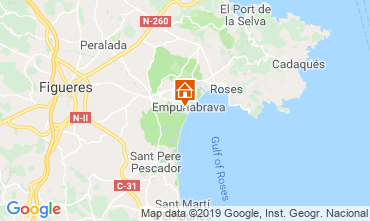 Map Empuriabrava House 94535