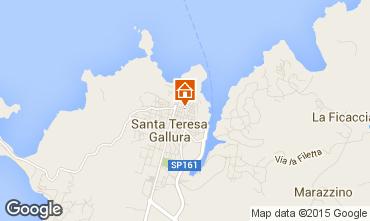 Map Santa Teresa di Gallura Apartment 99026