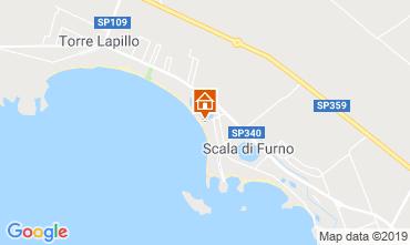 Map Porto Cesareo Apartment 116787