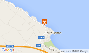 Map Torre Canne Apartment 93321