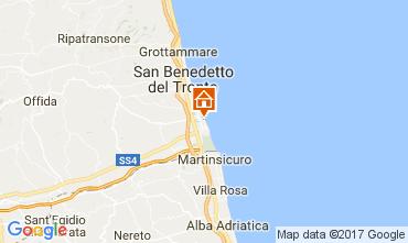 Map San Benedetto del Tronto Apartment 110845