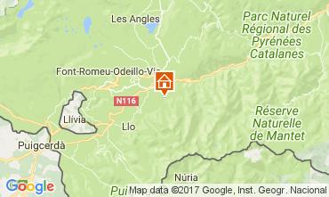 Map Saint Pierre - Dels - Forcats - Cambre Chalet 59119