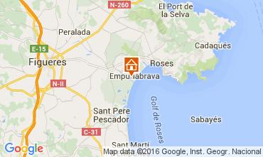 Map Empuriabrava Villa 94506