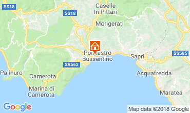 Map Policastro Bussentino Apartment 38444