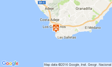 Map Los Cristianos Apartment 103218